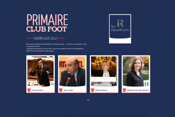 Riposte Républicains - Site internet